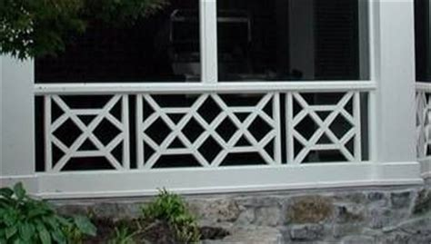eye chippendale railing design porch pinterest