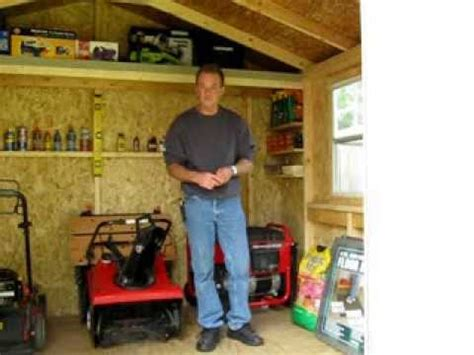 Handy Home Wood Sheds Review  Part 2 The Inside Look