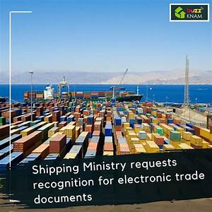 Shipping Ministry Requests Recognition For Electronic