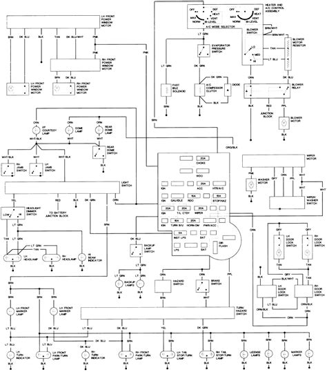 Free Gmc Wiring Diagram 1995 Jimmy by 1985 Gmc Jimmy Wiring Diagram Wiring Data