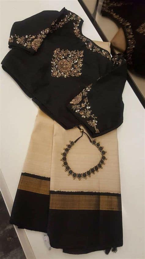trendy saree blouse designs simple craft ideas