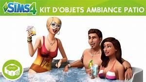 Contenu Les Sims 4 Ambiance Patio