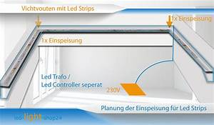 Led Indirekte Deckenbeleuchtung : lichtvouten mit led strips bauen und planen ~ Watch28wear.com Haus und Dekorationen