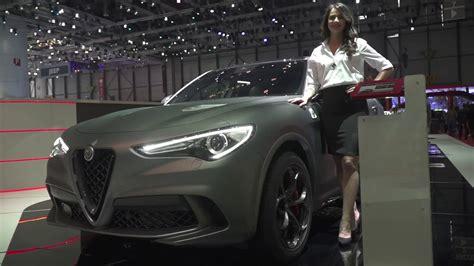 Alfa Romeo At Geneva Motor Show 2018