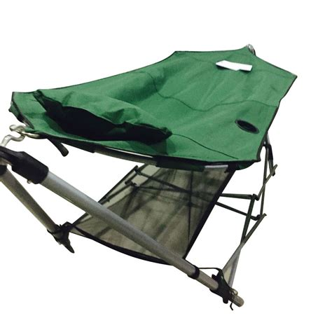 portable hammock swing with frame stand and carrying bag