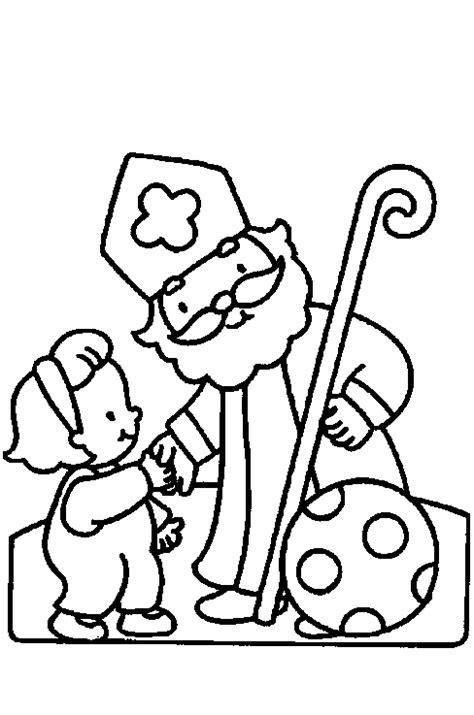 Kleurplaat Sinterklaas Komt Op Bezoke by Kleurplaten Sinterklaas 4
