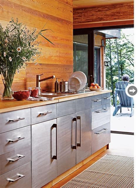 modern cottage kitchen mix and chic home tour a sleek and modern cottage 4192