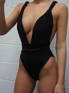 What Is My Size Chart One Piece Swimsuit Plunging Neckline Twisted Straps