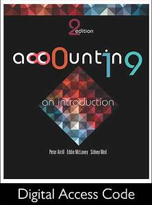 Solution Manual For Accounting An Introduction Nz 2nd Edition By Peter Atrill