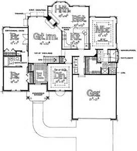 what is a split floor plan split bedroom ranch house plans