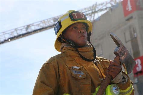 LAFD rookie TA'Ana Mitchell talks life as the first ...
