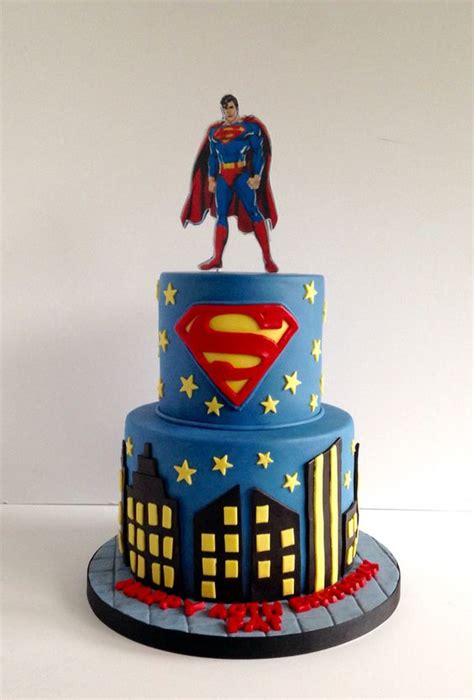 Superman Cake  My Cakes  Pinterest  Cakes, Heroes And