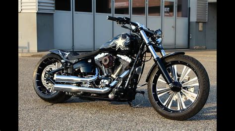 Harley Davidson Customs by Harley Davidson Breakout Fxsb Softail Custom
