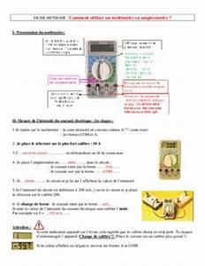 Comment Utiliser Un Multimetre : notice multimetre notice manuel d 39 utilisation ~ Premium-room.com Idées de Décoration