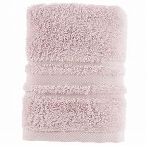 Serviette Carré Blanc : serviette de toilette lola ii poudre carre blanc ~ Teatrodelosmanantiales.com Idées de Décoration