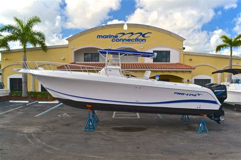Pre Owned Edgewater Boats For Sale by Used 2004 Pro Line 30 Sport Center Console Boat For Sale