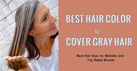 How To Get The Best Hair Color by Best Hair Color Dye To Cover And Hide Gray Hair Hair Dye