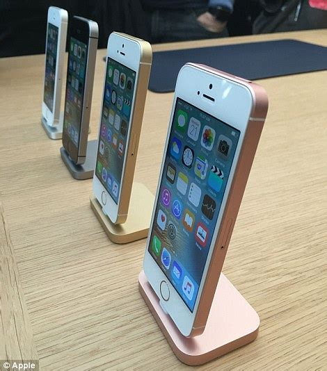 SE Rose Gold iPhone