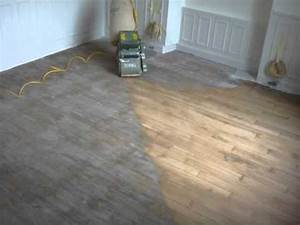 renovation d39un parquet chene youtube With comment renover un parquet en chene