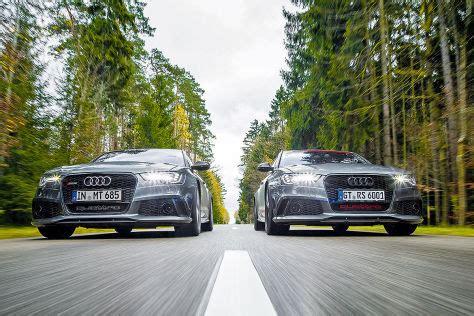Audi Rs 6 Mtm Ff Duell Viral by Mtm Rs 6 R Avant Und Hgp Rs 6 Avant Im Kombi Vergleich