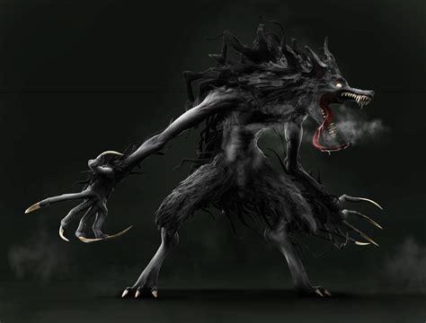 ArtStation - Creature Rough Sketch - Werewolf 狼男, Wataru ...