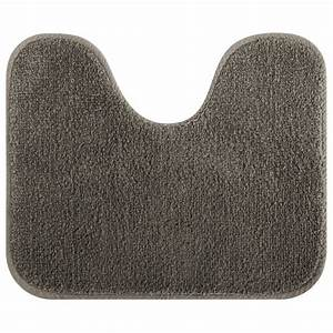 Tapis contour wc en coton en 8 coloris for Tapis de wc
