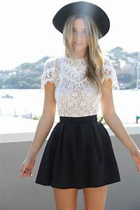 25+ Best Ideas about Black Skater Skirt Outfit on Pinterest | Skater skirt outfits Skater skirt ...