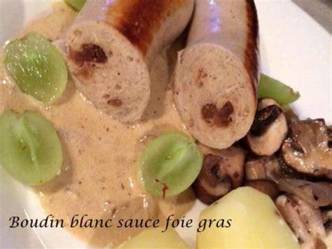 comment cuisiner boudin blanc recettes de boudin blanc et foie gras