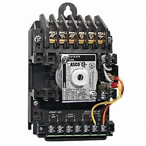 Asco  91862031c  Industrial Control  Lighting Contactor
