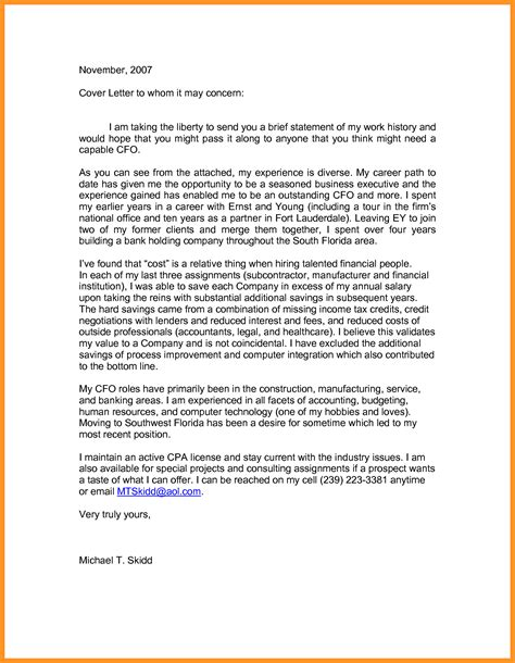 to whom it may concern cover letter cover letter to whom it may concern bio letter format