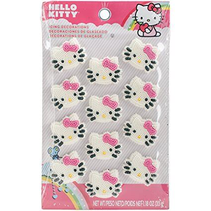 wilton  kitty icing decorations