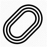 Track Icon Race Athletics Racing Circuit Icons