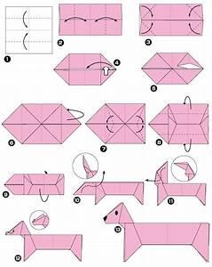 Origami Animaux Facile Gratuit : origami de teckel origami pinterest origami papier ~ Dode.kayakingforconservation.com Idées de Décoration