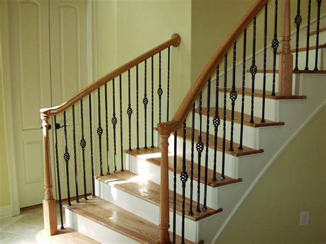 brushed nickel kitchen faucets and stairs ideas stairs banister railing ideas
