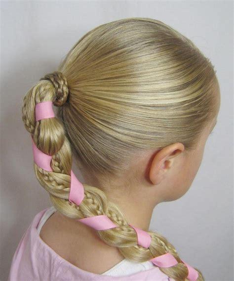 kreative maedchen frisuren hair styling der kleine dame