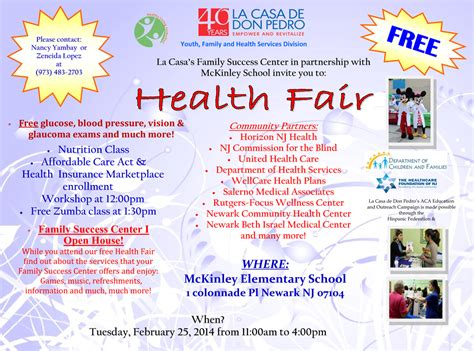 Health Fair « La Casa De Don Pedro. Graduation Gifts For Guys. Premiere Pro Intro Template. Church Bulletin Design. 7 Day Calendar Template. Donor Pledge Card Template. Wayne State University Graduation. Criminal Justice Graduation Caps. Uncg Online Graduate Programs