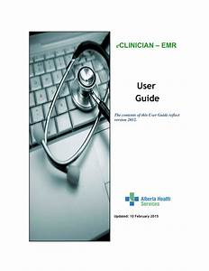 Eclinician Emr User Guide