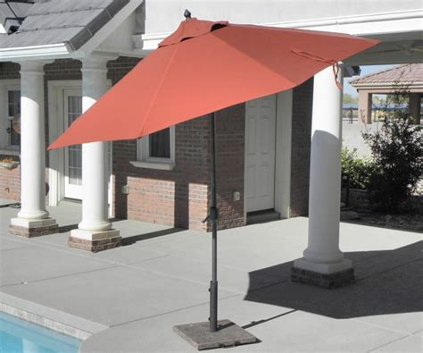 wooden sunbrella patio umbrellas custom made