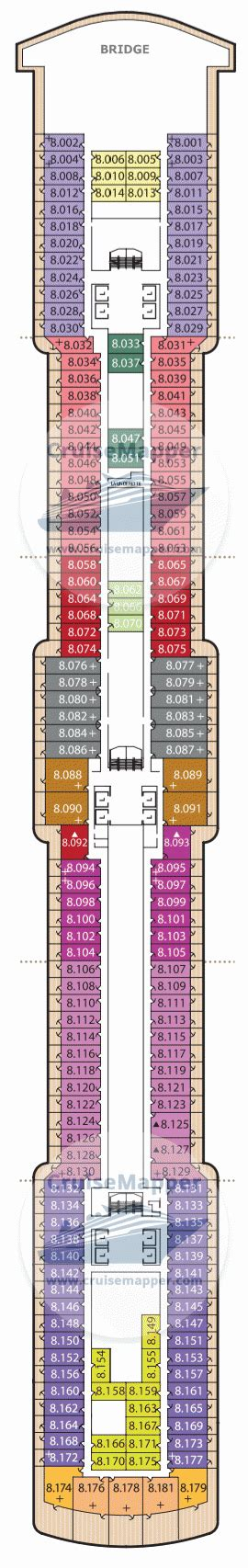 queen victoria deck  plan cruisemapper