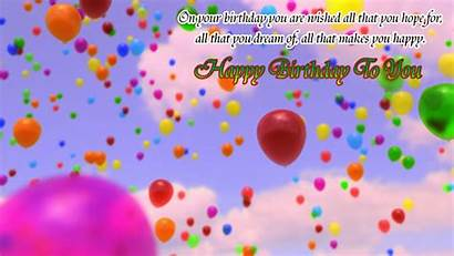 Birthday Wishes Happy Colorful Wallpapers