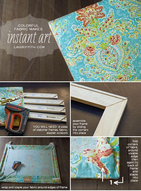 easy diy art   canvas stretcher frame  pretty