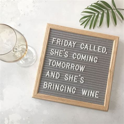 Sauvignon blanc's mineral personality comes to the fore in this lovely, lively white wine. Friday called, she's coming tomorrow and she's bringing ...
