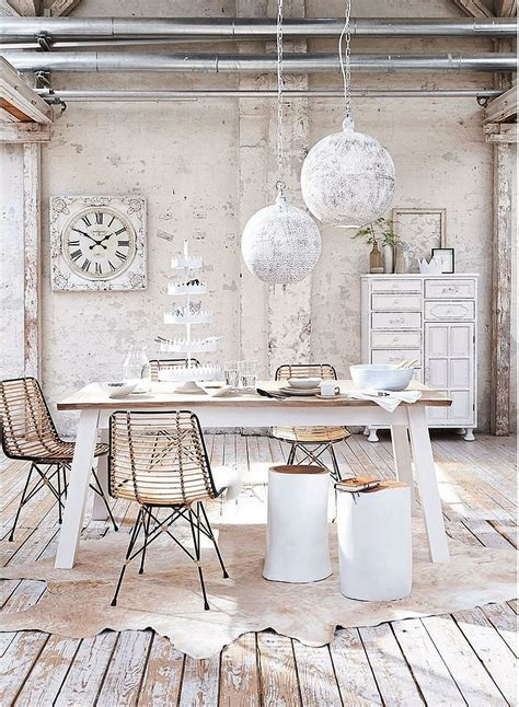 meuble cuisine shabby chic 50 cool and creative shabby chic dining rooms