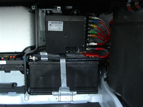 the amount of electronics and wiring in your trunk pics mbworld org forums