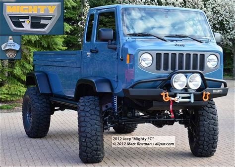 jeep cabover for sale jeep mighty fc 2012 wrangler forward control concept vehicle