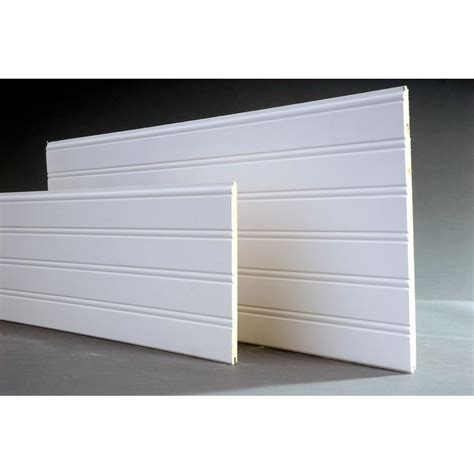 Vinyl Wainscoting Panels Home Depot by 14 Sq Ft Cape Cod Mdf Beadboard Planks 3 Pack 8203035