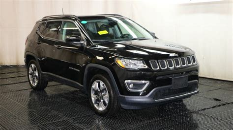 jeep compass 2018 black new 2018 jeep compass limited sport utility in braintree