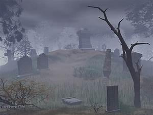 Free 3D Wallpaper 'Graveyard' 800x600