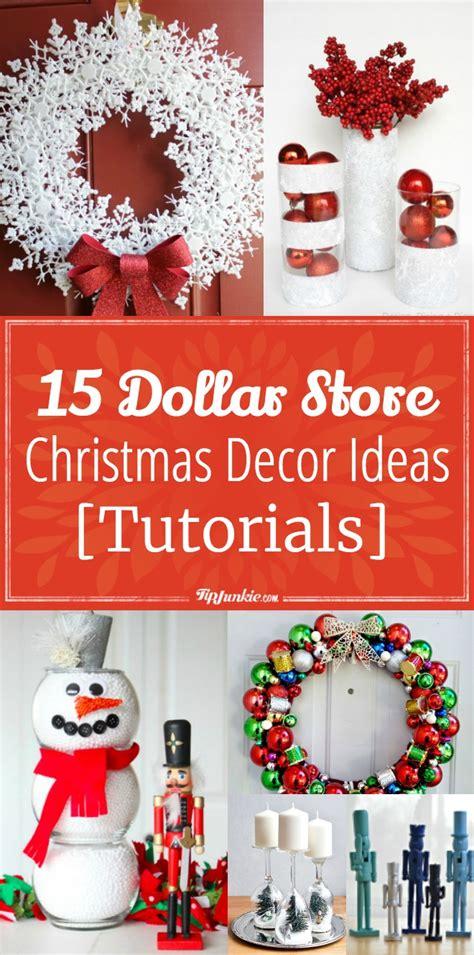 dollar store christmas decor ideas tutorials tip junkie