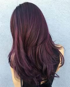 34 Dark Burgundy Haircolor Ideas | Hairstyle Haircut Today